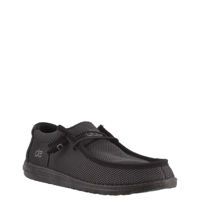 Hey Dude Men's Wally Sox Black