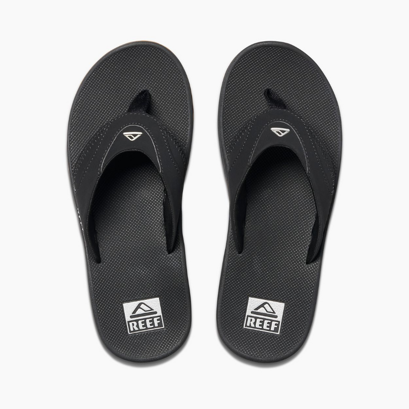Reef Men's Fanning Sandals Black/Silver