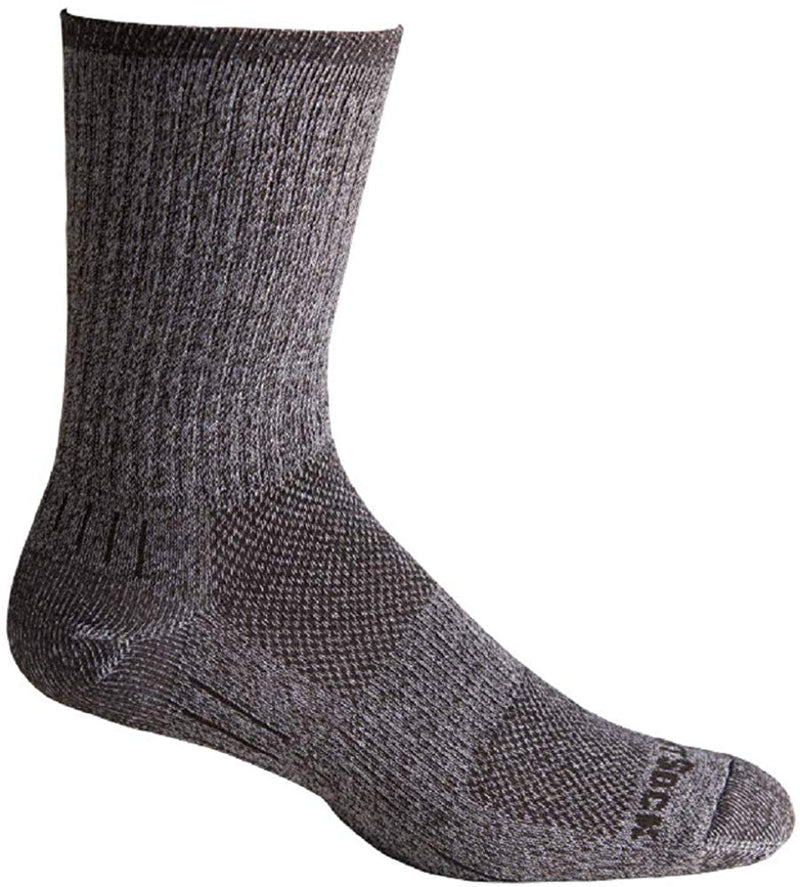 Wrightsock Men's Escape Crew Granite