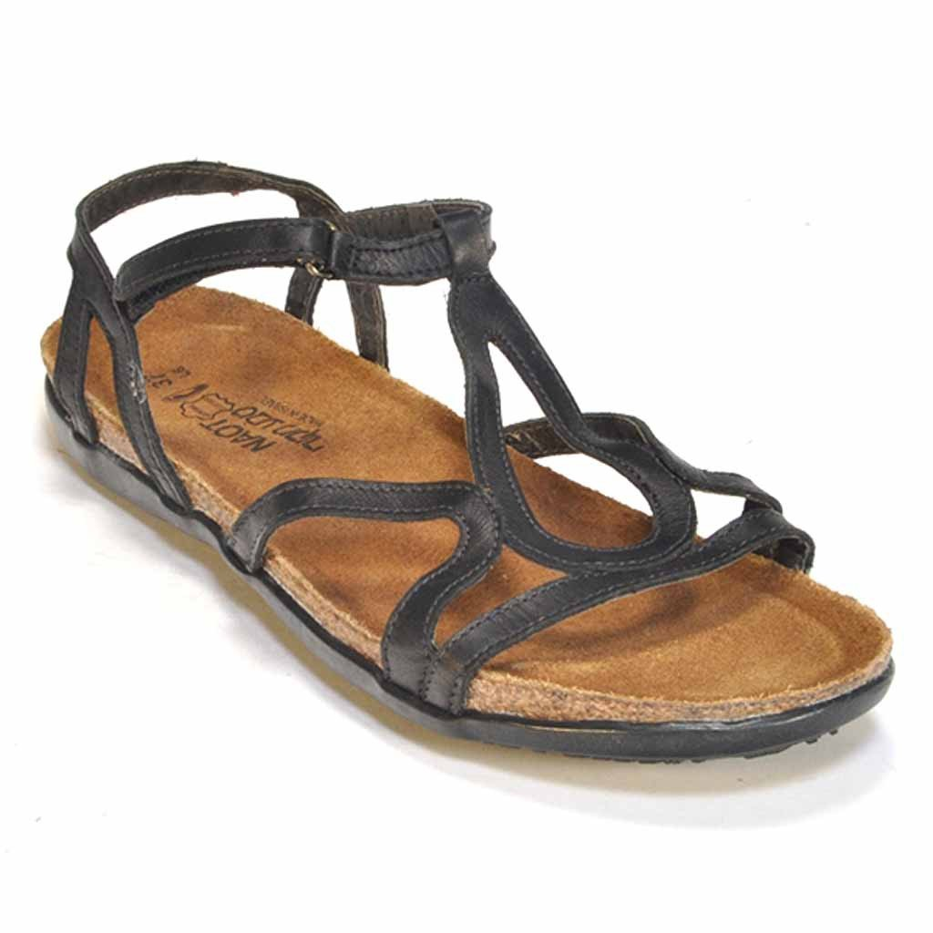 Naot Dorith Women's Sandal Black Raven Leather