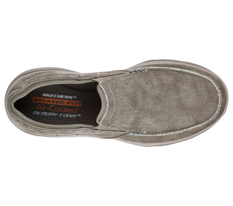 Skechers Men's Relaxed Fit: Creston  Moseco Taupe