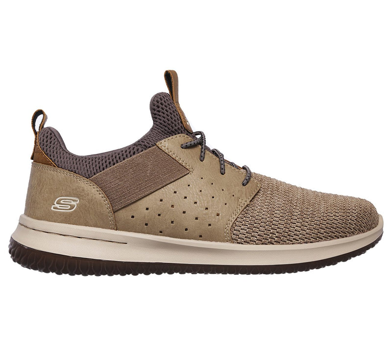 Skechers Men's Delson Camben Taupe