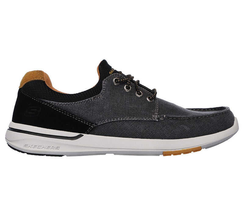 Skechers Men's Relaxed Fit: Elent Mosen Black