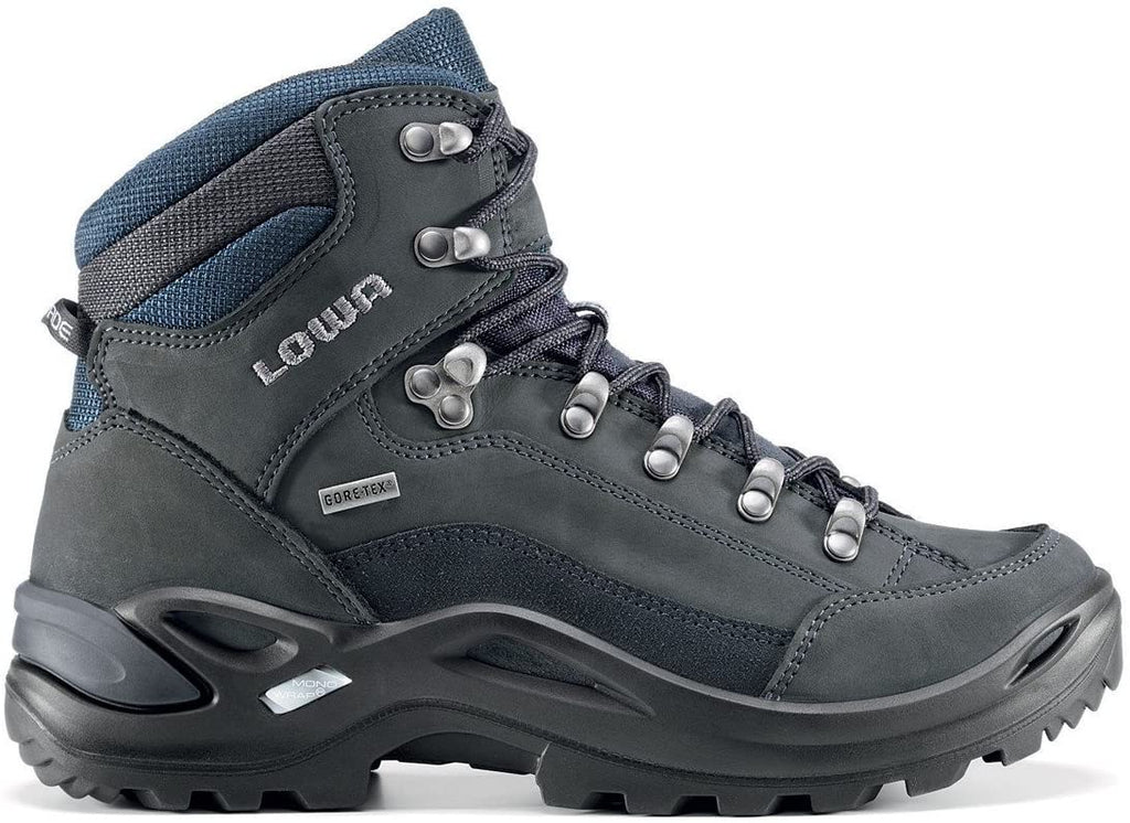 Lowa Men's Renegade GTX Mid Dark Gray/Navy