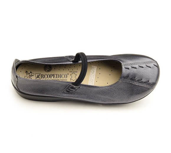 Arcopedico Women's Leather Shawna Pewter