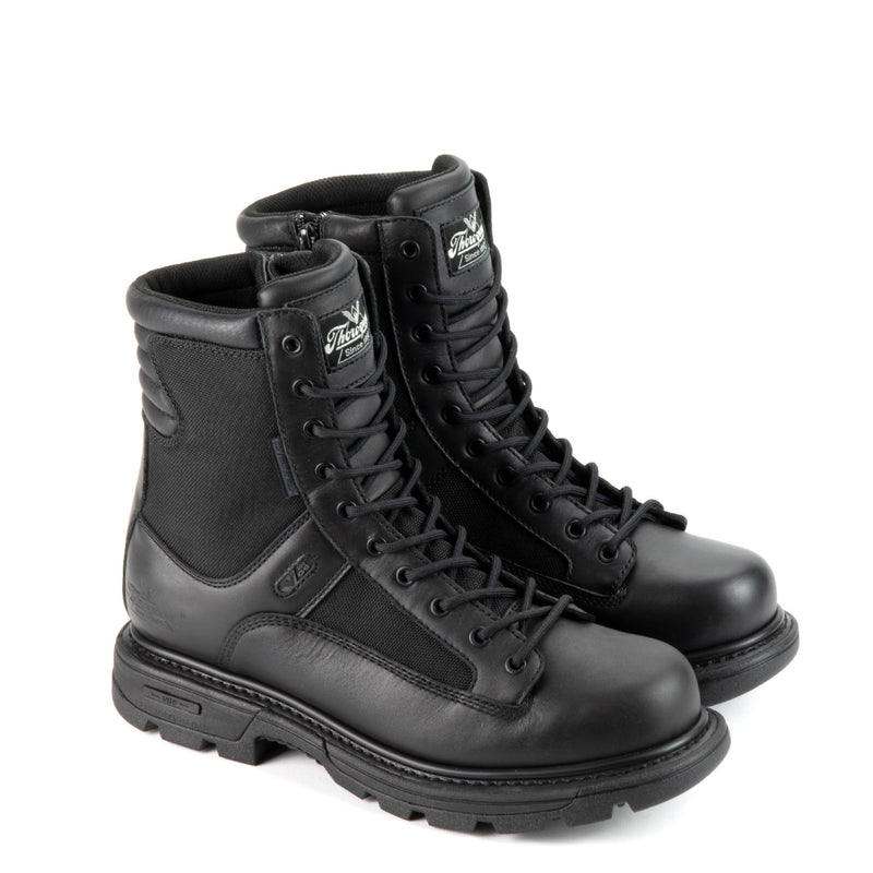 Thorogood Men's GEN-flex2® Series – Waterproof – 8″ Tactical Side Zip Black Wide