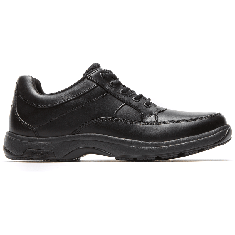 Dunham Men's Midland Waterproof Oxford Black Wide