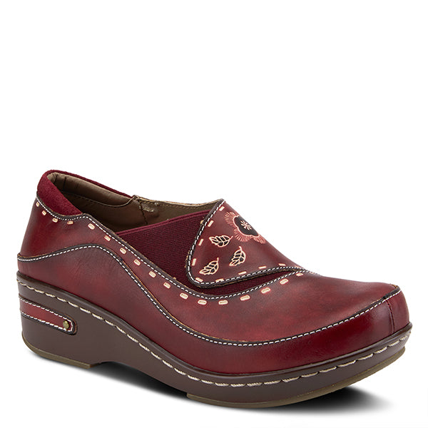 Spring Step L'Artiste Women's Burbank Bordeaux Leather