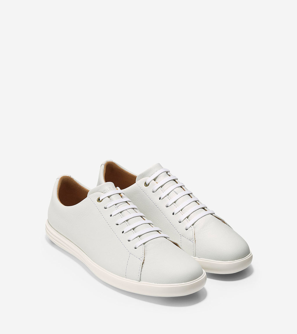 Cole Haan Men's Grand Crosscourt White Leather