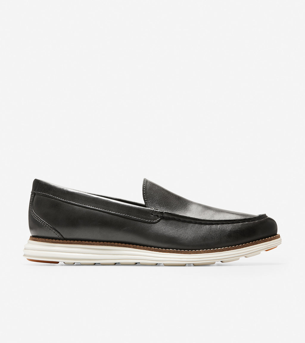 Cole Haan Men's ØriginalGrand Venetian Loafer Magnet/Ivory