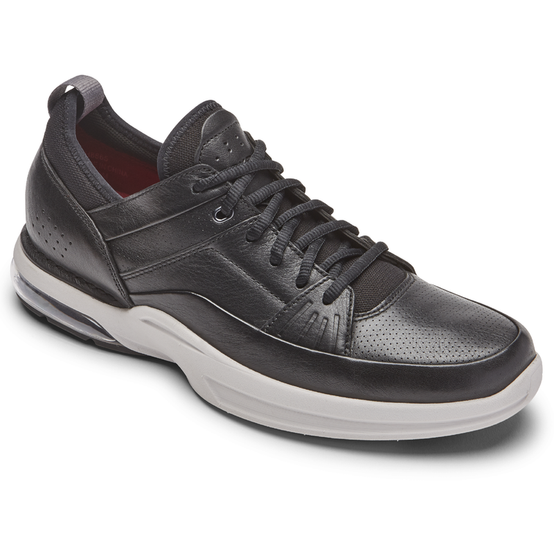 Rockport Men's Howe Street Lace Up Black Leather