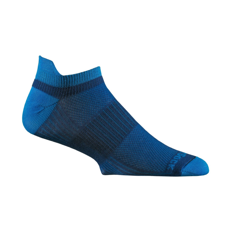 Wrightsock Men's Coolmesh II Socks Tab Steel Royal/Electric Blue