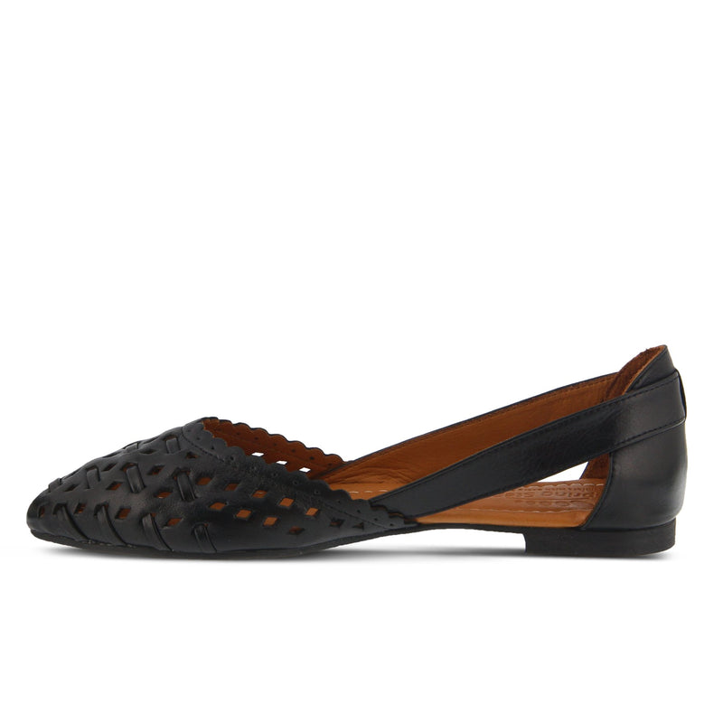 Spring Step Women's Delorse Black Leather