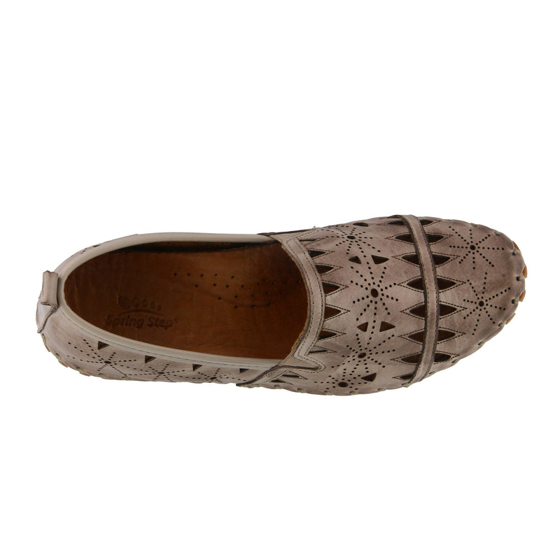 Spring Step Women's Fusaro Loafer Grey Leather