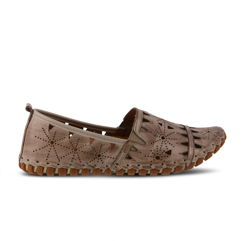 Spring Step Women's Annemarie Grey Multi Leather