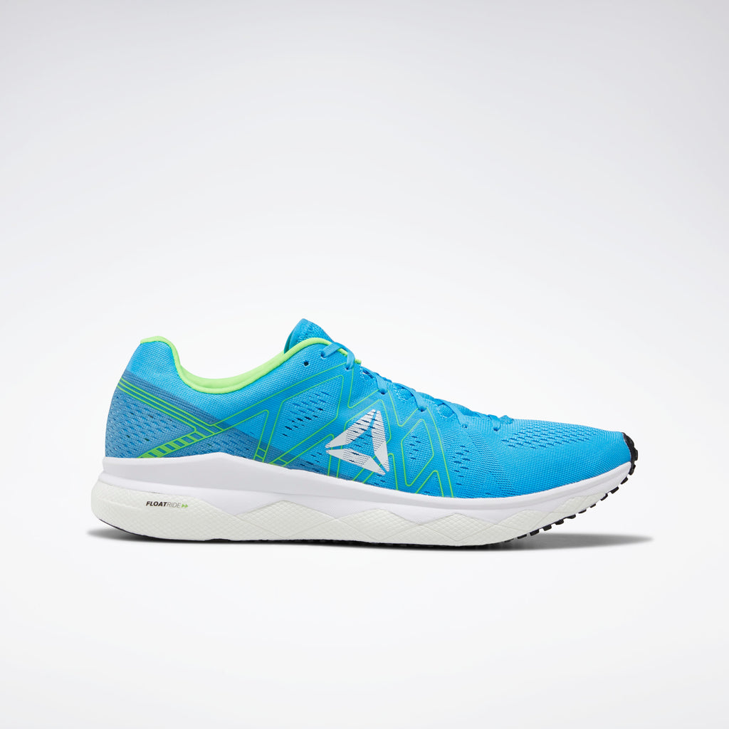 Reebok Men's Floatride Run Fast Bright Cyan/Cyan/Solar Green