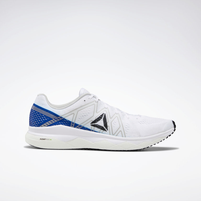 Reebok Men's Floatride Run Fast White/Cobalt/Skull Grey