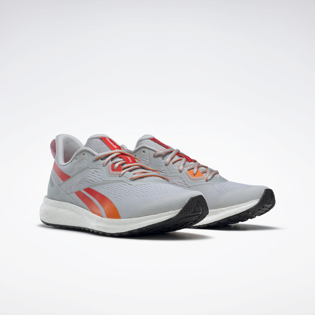 Reebok Men's Floatride Energy 2 Pure Grey 2/White/High Vis Orange