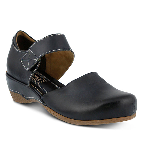Spring Step L'Artiste Women's Gloss Black Leather