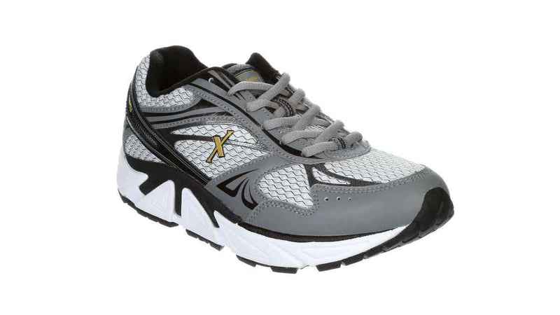 Xelero Men's Genesis XPS Mesh Gray/Gold/Black Wide