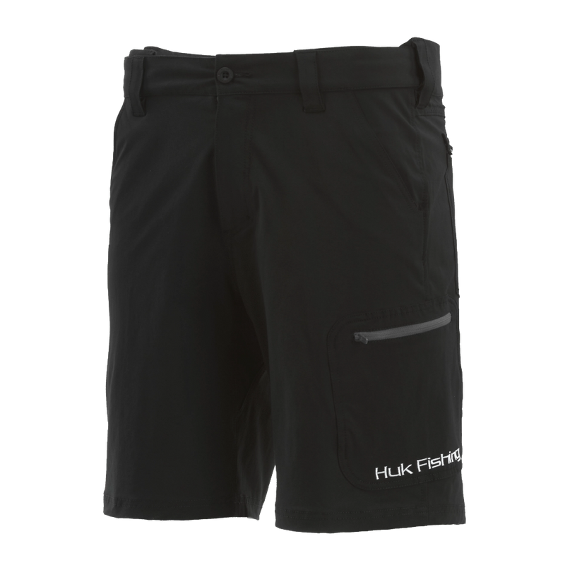 "Huk Next Level 10.5"" Shorts Black"