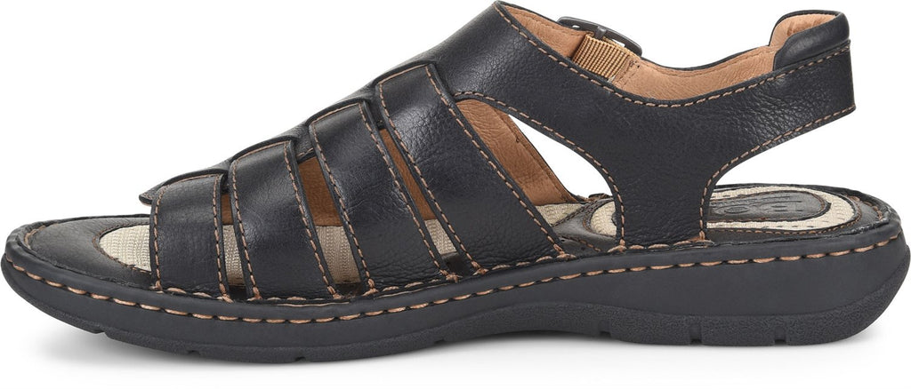 Born Men's Wichita Sandals Black