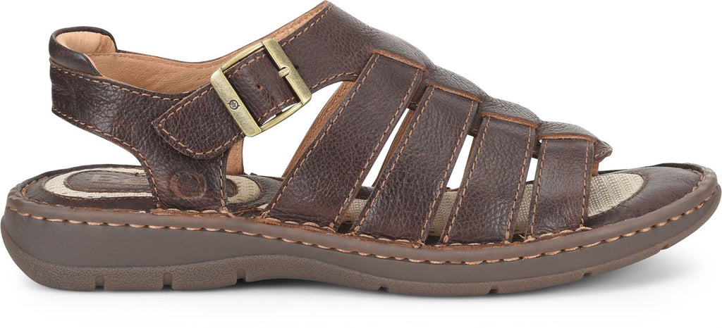 Born Men's Wichita Sandals Dark Brown