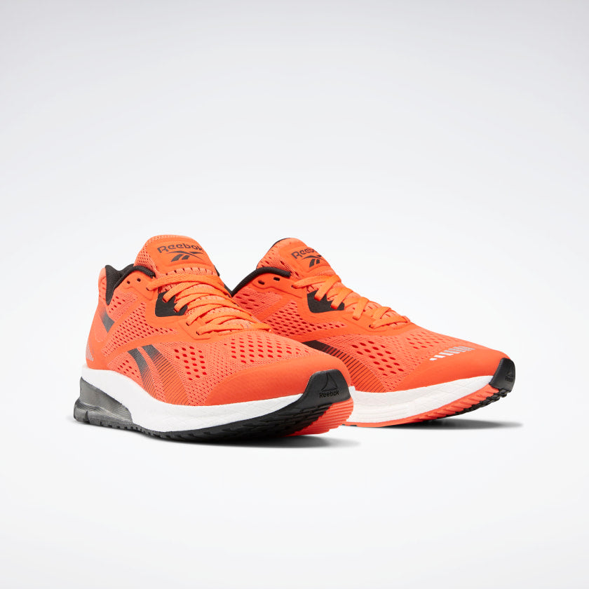 Reebok Men's Harmony Road 3.5 Running Shoes Vivid Orange/Black/White
