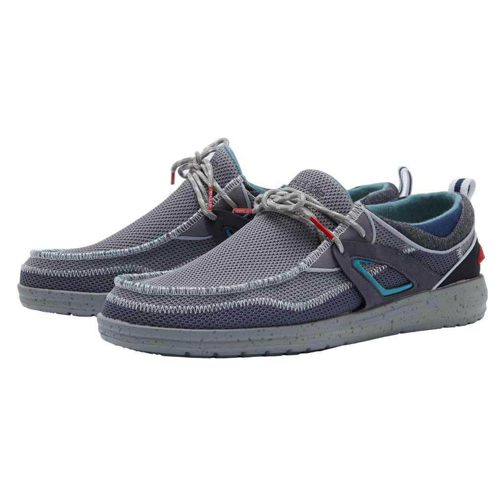 Hey Dude Men's Wally Storm Dark Grey
