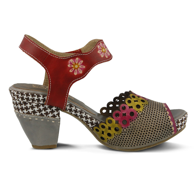 Spring Step L'Artiste Women's Jive Grey Multi Leather