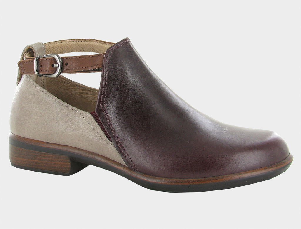 Naot Women's Kamsin Bordeaux/Soft Stone/Soft Chestnut Leather