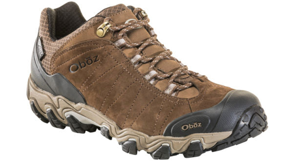Oboz Men's Bridger Low Waterproof Canteen