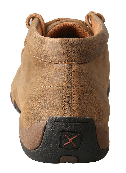 Twisted X Men's Chukka Driving Moc Bomber/Bomber