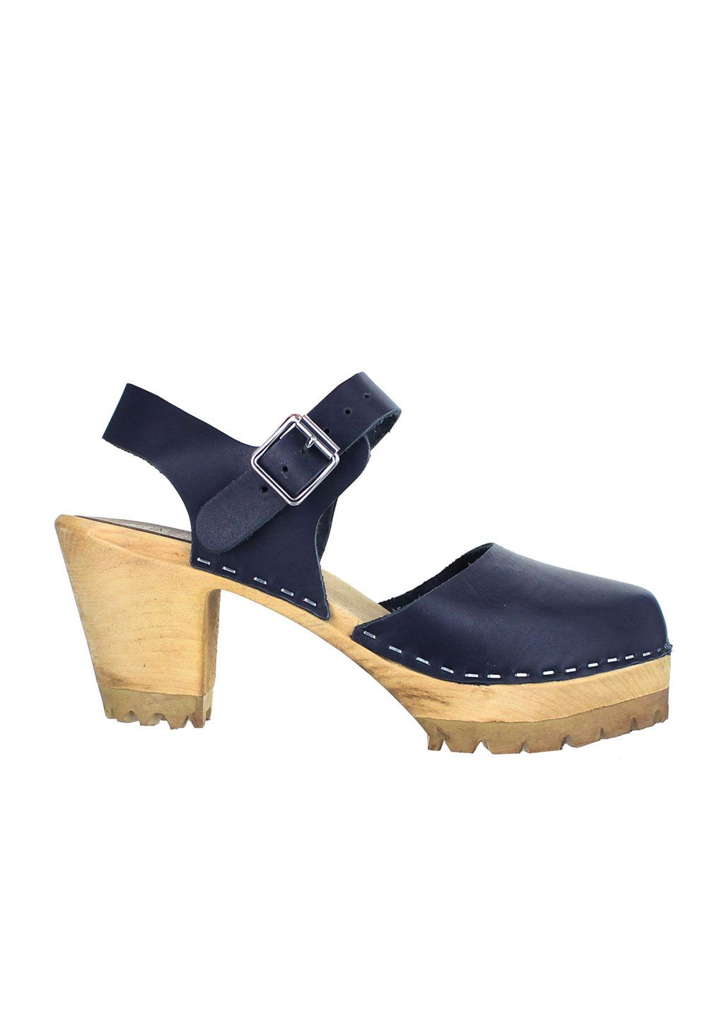 Mia Women's Abba Sandal Navy Leather
