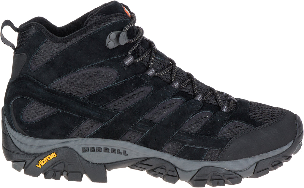 Merrell Men's Moab 2 Mid Ventilator Black Night