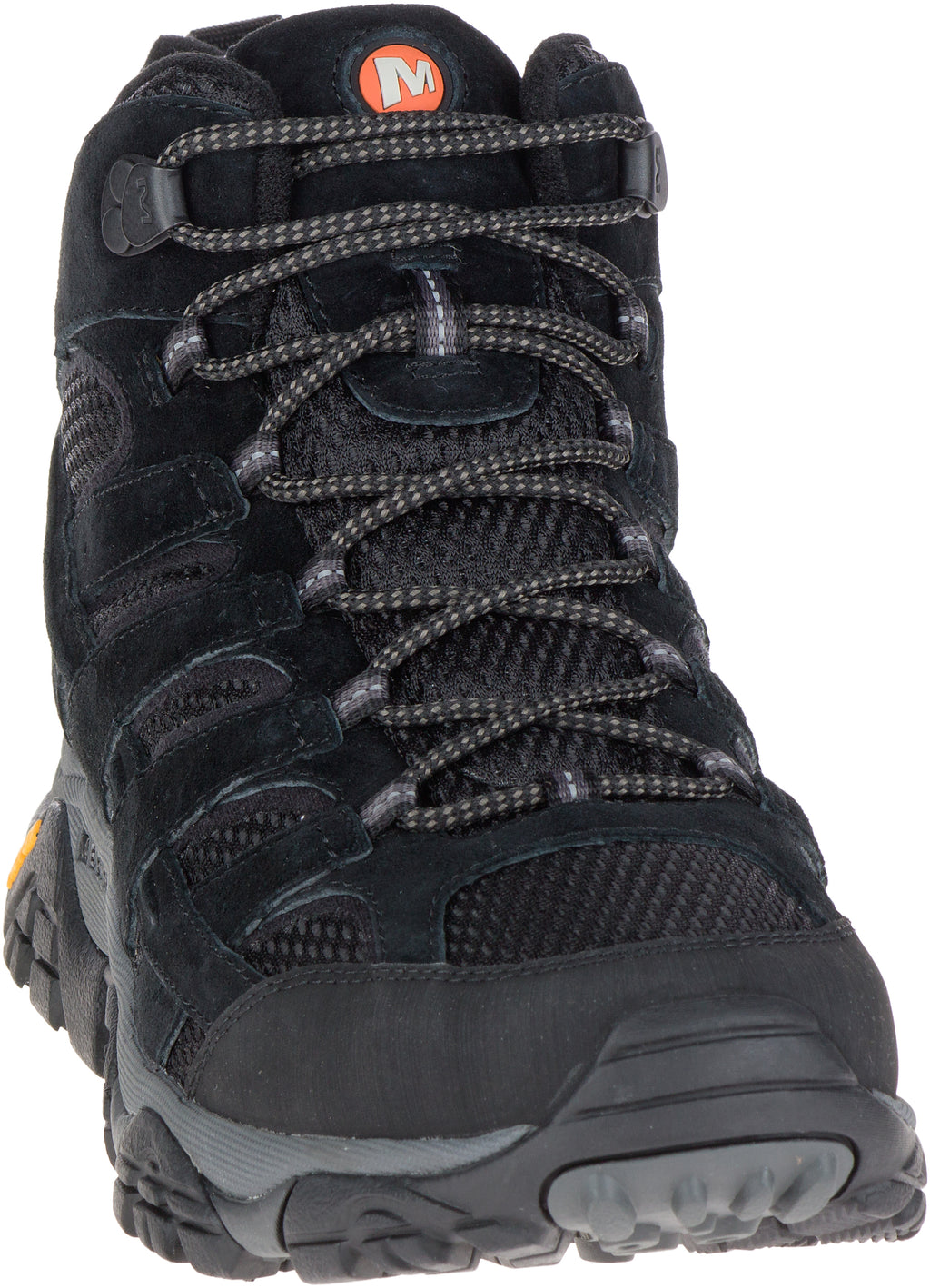 Merrell Men's Moab 2 Mid Ventilator Black Night Wide