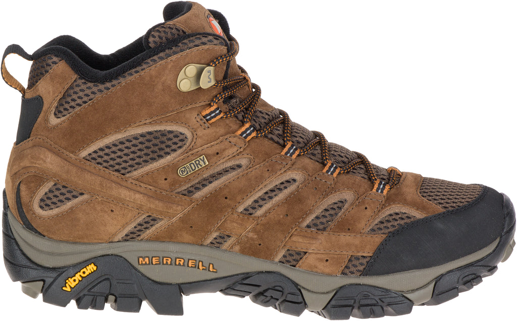 Merrell Men's Moab 2 Mid Waterproof Wide Earth