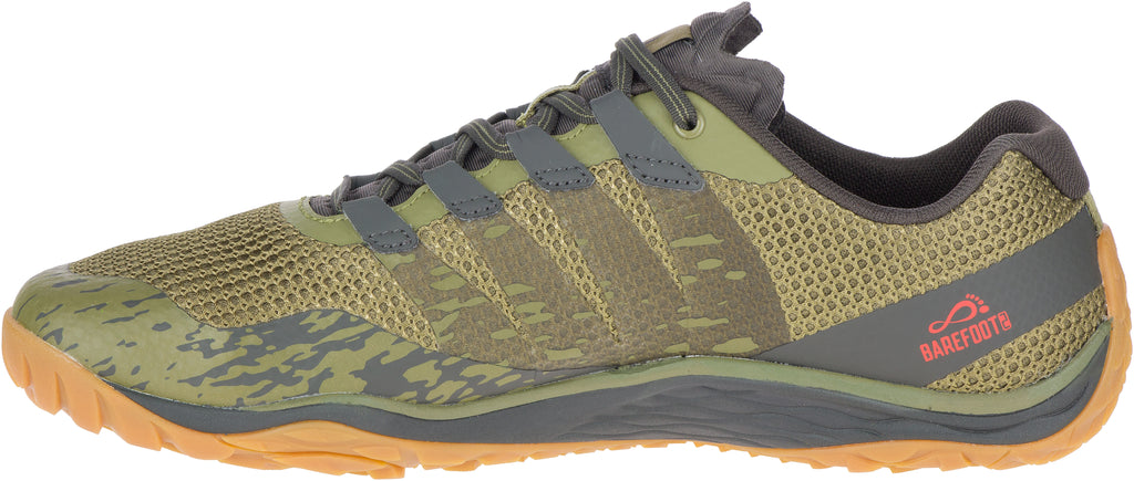 Merrell Men's Trail Glove 5 Olive Drab/Beluga