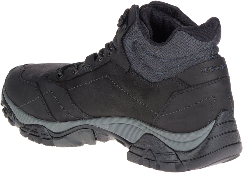 Merrell Men's Moab Adventure Mid Waterproof Wide Width Black