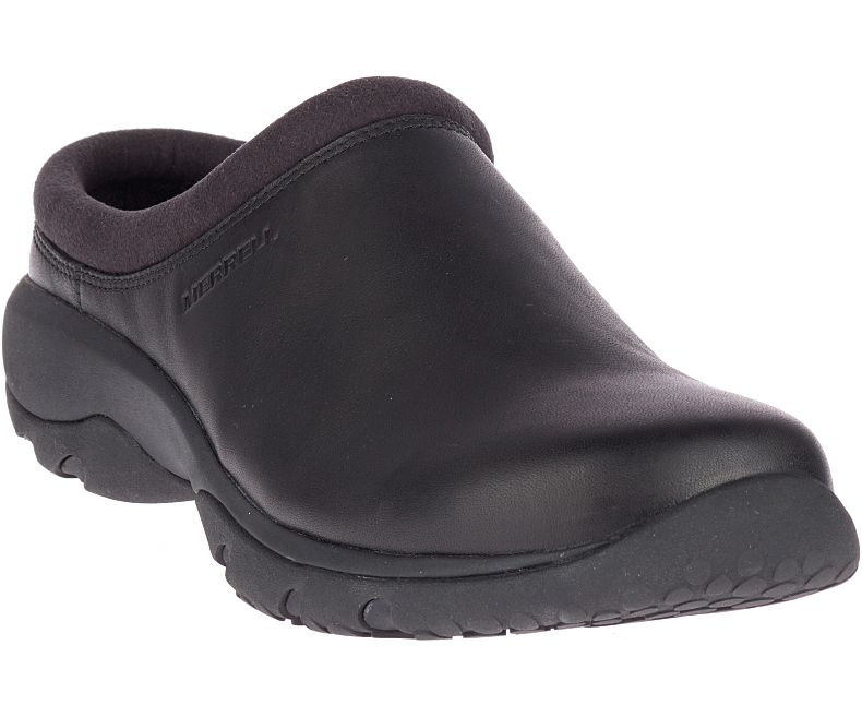 Merrell Men's ENCORE REXTON SLIDE LTR BLACK