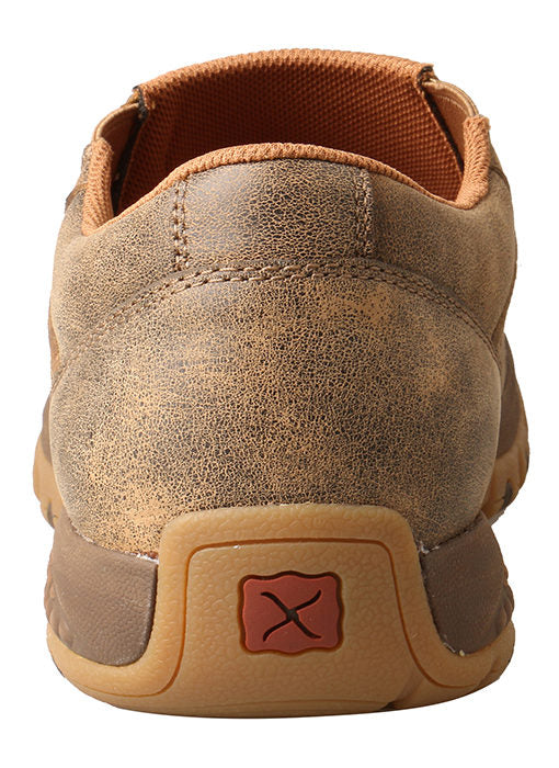 Twisted X Men's Slip-On Driving Moc with CellStretch® Bomber