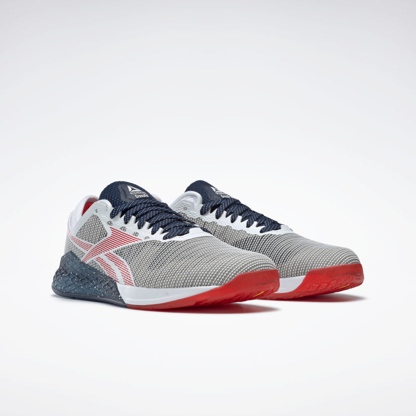 Reebok Women's Nano 9 Training Shoes White/Collegiate Navy/Primal Red