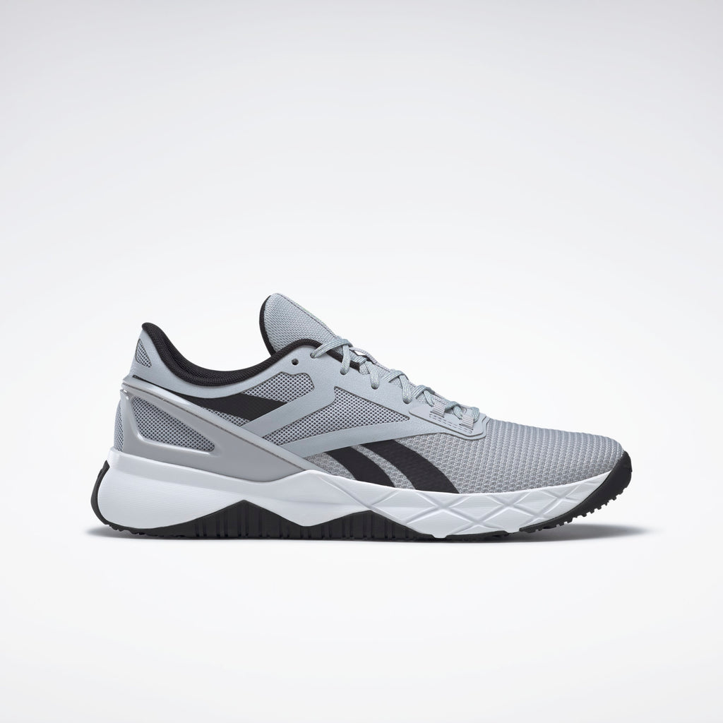 Reebok Men's Nanoflex Tr Cross Trainer - Cold Grey / Core Black / Cloud White