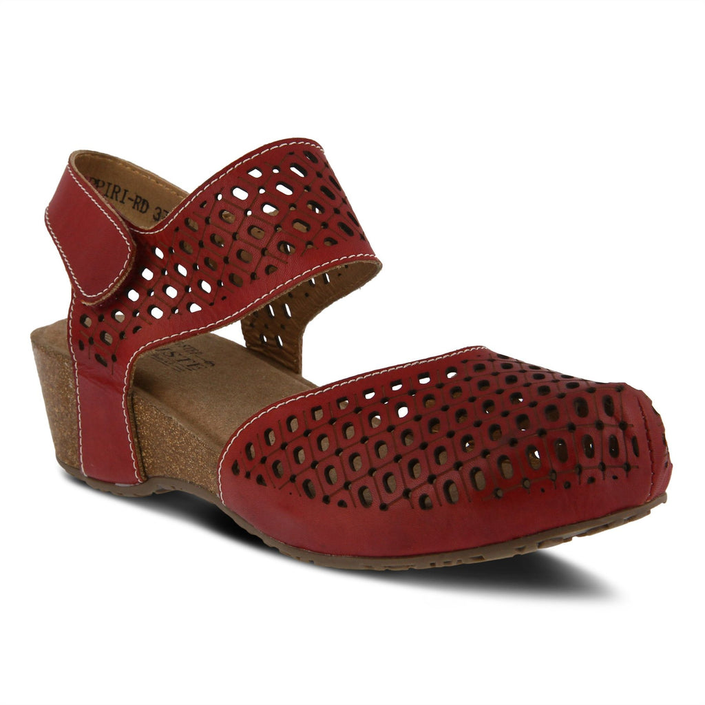 Spring Step Women's Poppiri Red Leather