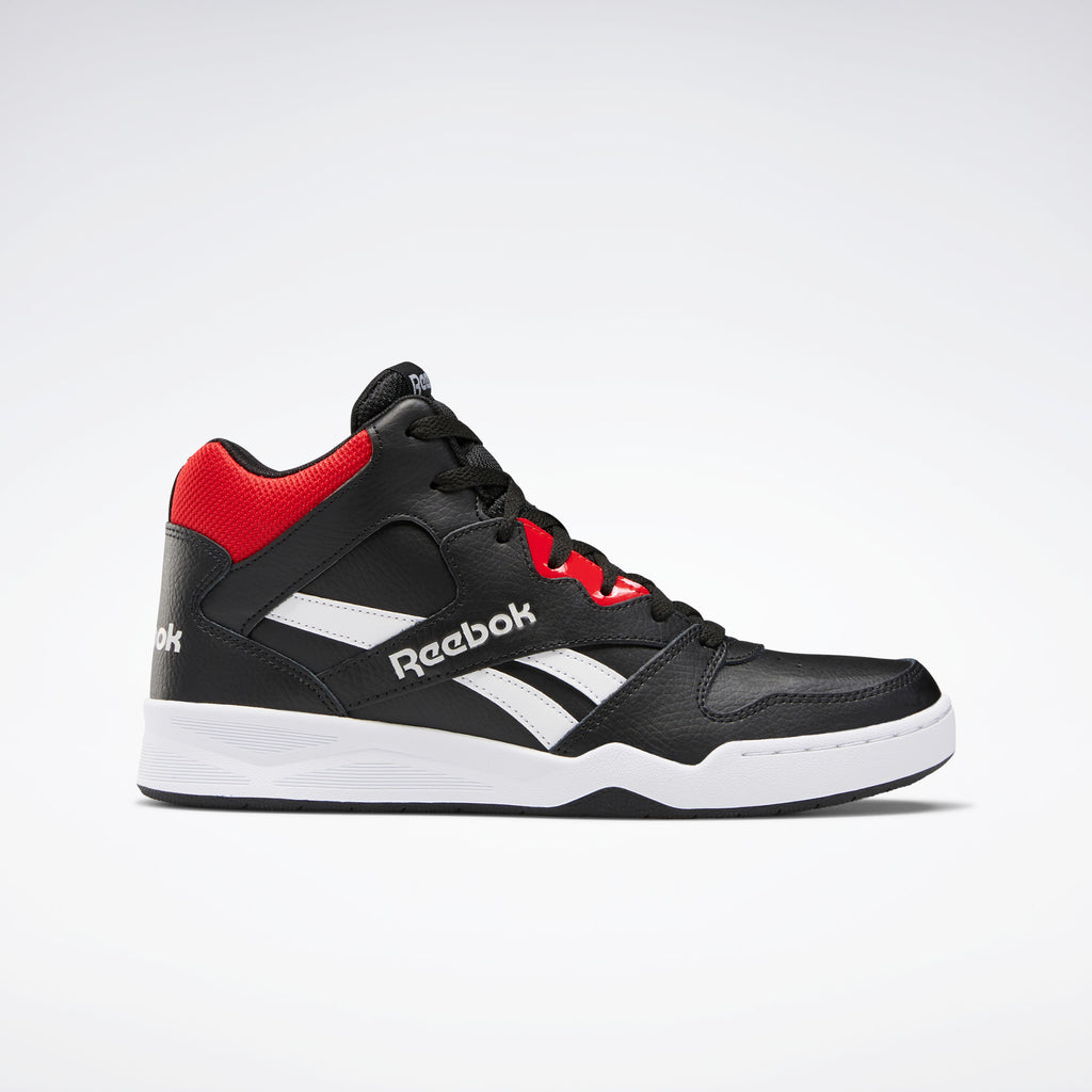 Reebok Men's REEBOK ROYAL BB4500 HI2 - Black/White/Primal Red