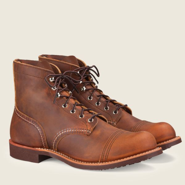 Red Wings Men's Iron Ranger 6 inch Boot Copper