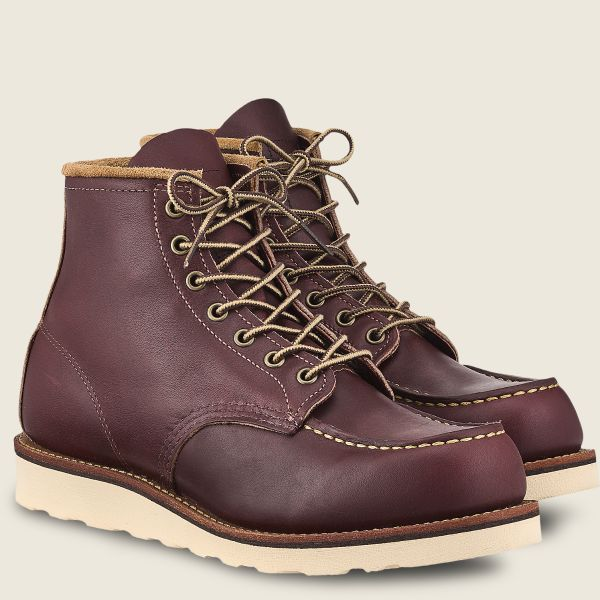 Red Wings Men's Classic MOC 6 Inch Boot OxBlood