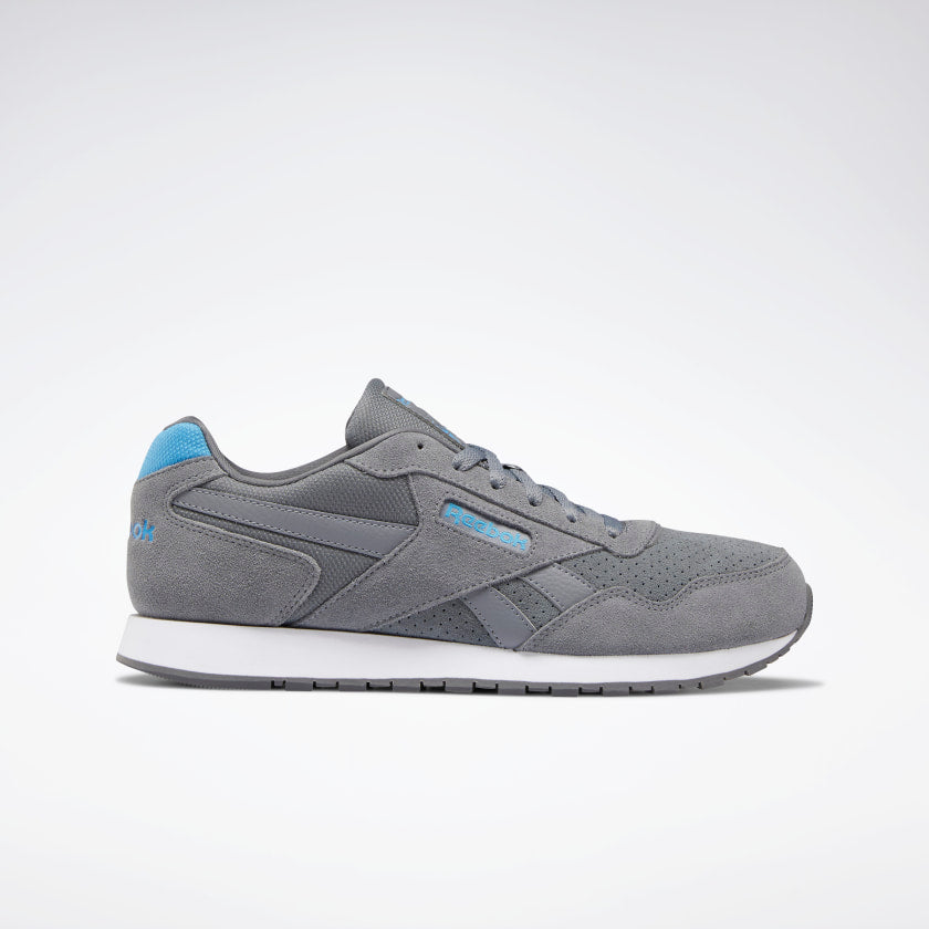 Reebok Men's Classic Harman Run Grey/Cyan/White