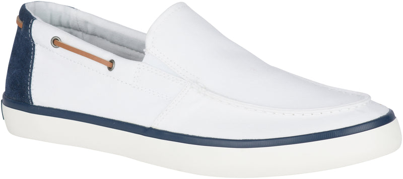 Sperry Men's Mainsail Slip On Sneaker White