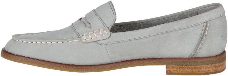 Sperry Women's Seaport Penny Loafer Grey